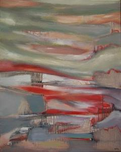 Abstract Painting - Eastern Seaboard by Scott Spencer