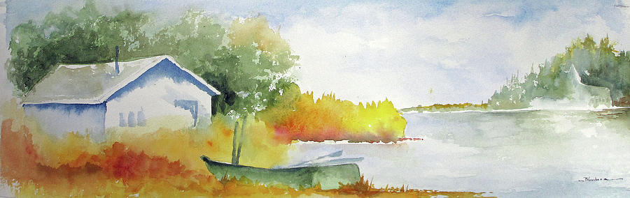 Landscape Painting - Eastern Shore by Mary Blumberg