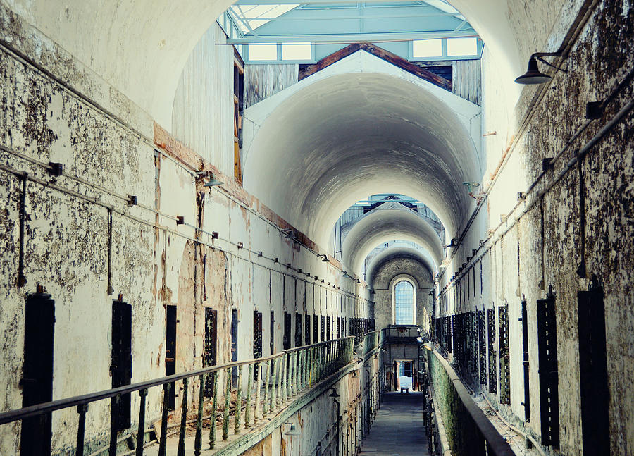 Eastern Photograph - Eastern State Penitentiary by JAMART Photography