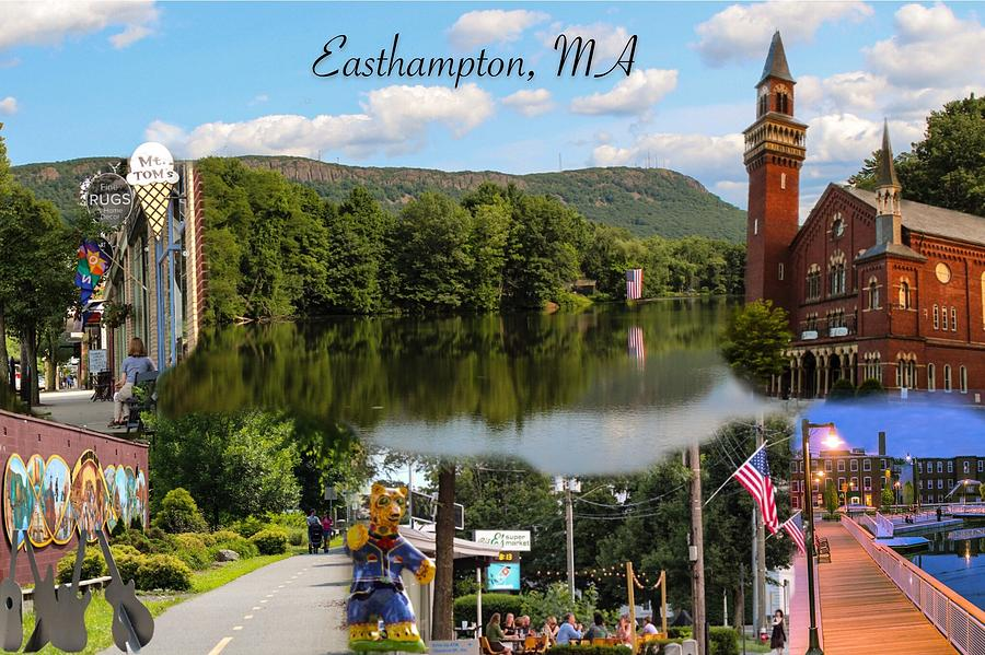 Easthampton MA collage by Sven Kielhorn