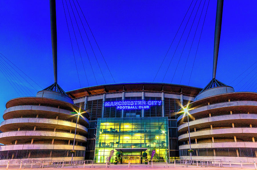 Eastlands - Home of Manchester City by Neil Alexander Photography