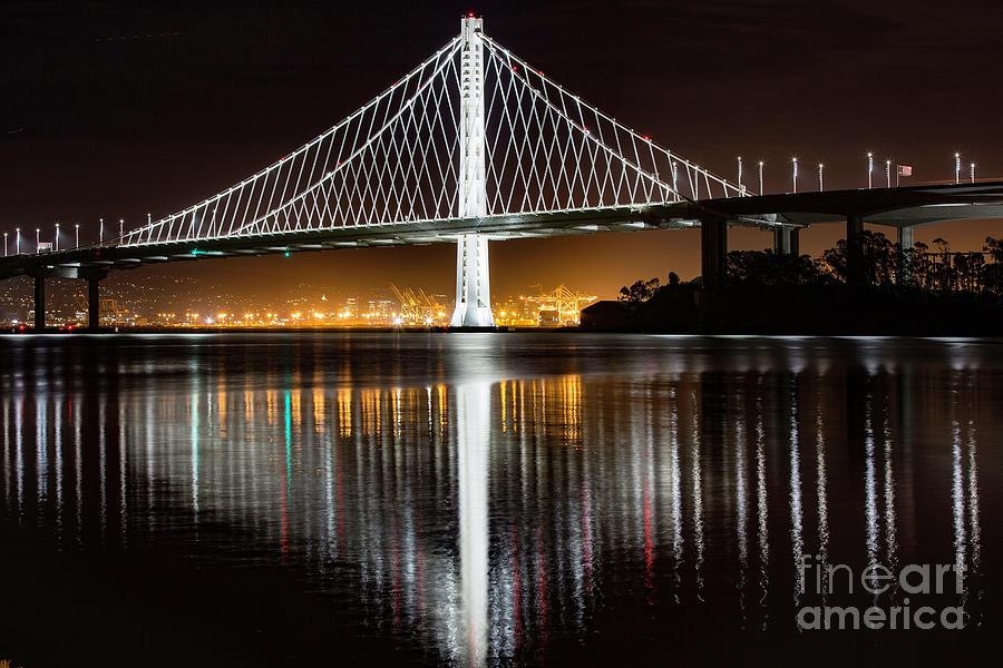 San Francisco Photograph - Eastspan by Caroline Jeanine