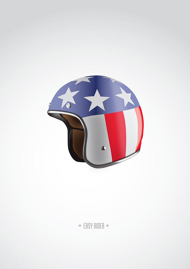 Easy Rider Digital Art - Easy Rider - Alternative Movie Poster by Movie Boy