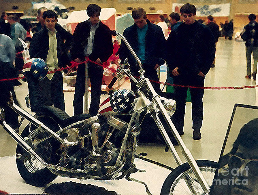 Easy Rider Bike Photograph by Brent Easley