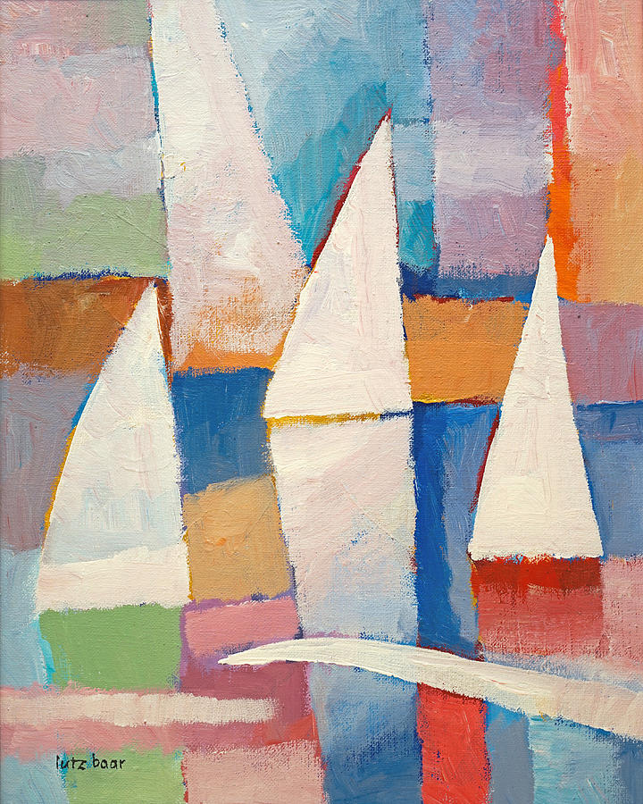 Easy Sailing Painting - Easy Sailing by Lutz Baar