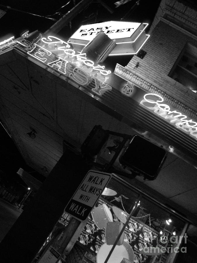Easy Street Records Photograph - Easy Street by Nathan  Brend