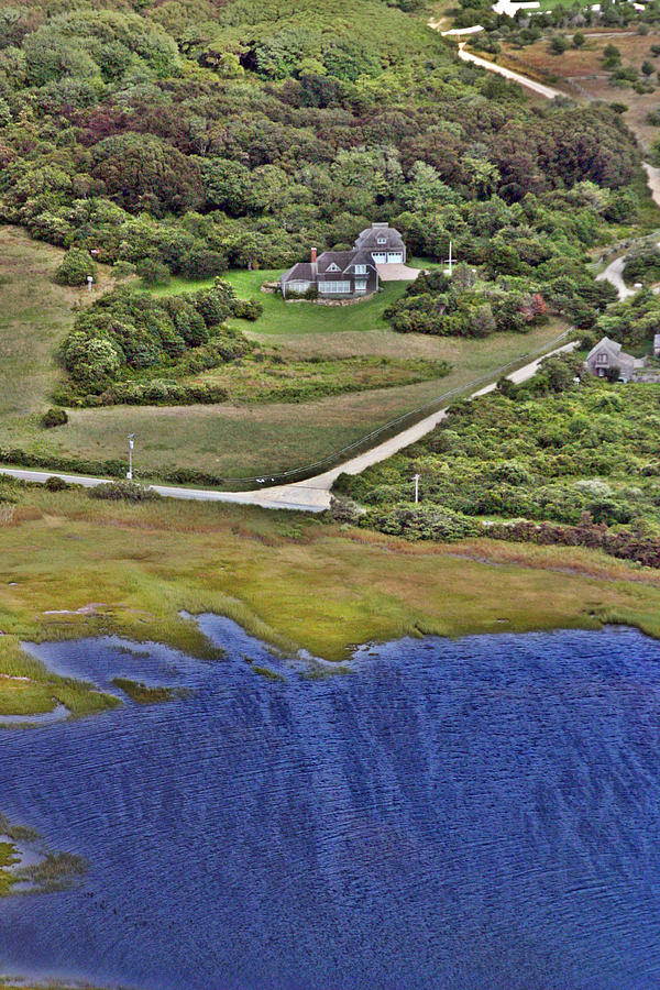 Nantucket Photograph - Eat Fire Spring Road Polpis Nantucket Island  by Duncan Pearson