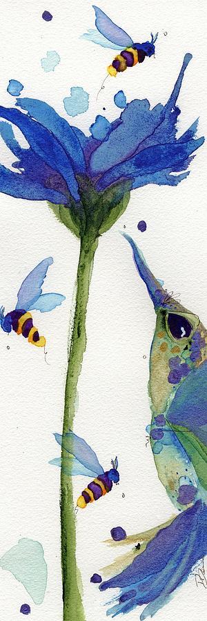 Bloom Painting - Eat Fresh I by Dawn Derman