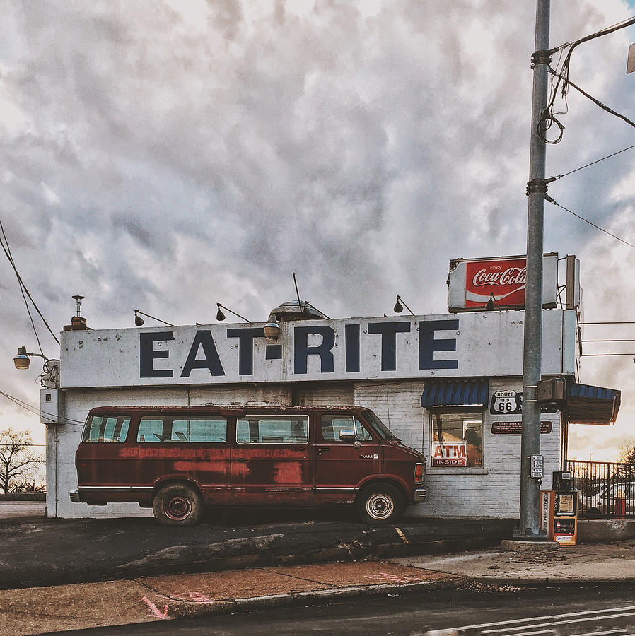 Diner Photograph - Eat Rite Diner - St. Louis, Mo by Dylan Murphy
