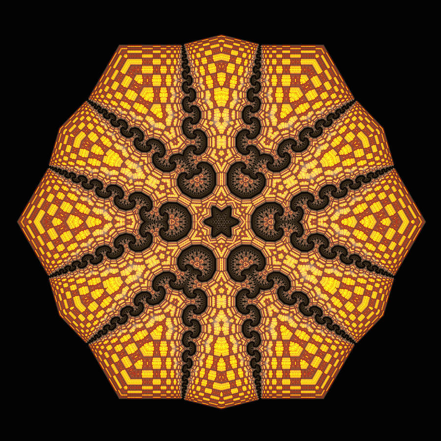 Mandala Digital Art - Eb by Robert Thalmeier