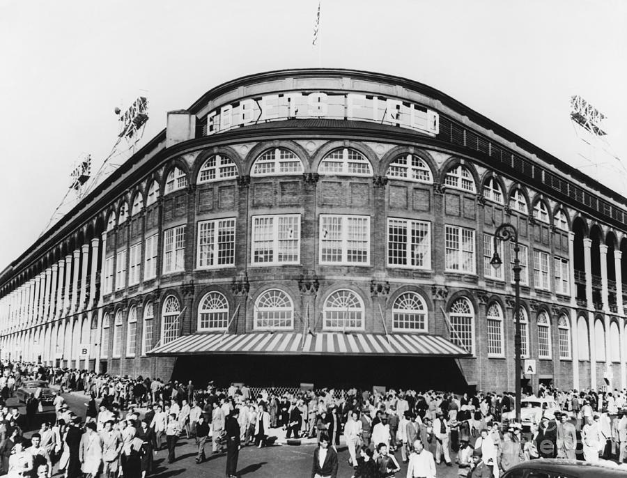 Historic Photograph - Ebbets Field, Brooklyn, Nyc by Photo Researchers