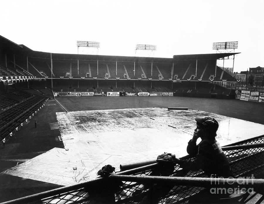 1950 Photograph - Ebbets Field, C1950 by Granger