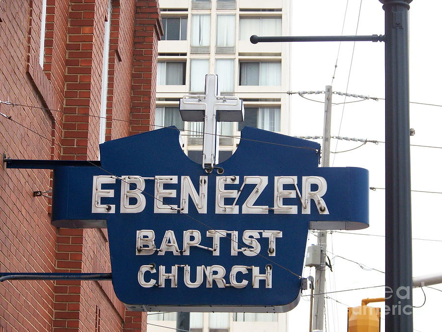 Ebenezer Baptist Church Photograph - Ebenezer Baptist Church by Kevin Croitz
