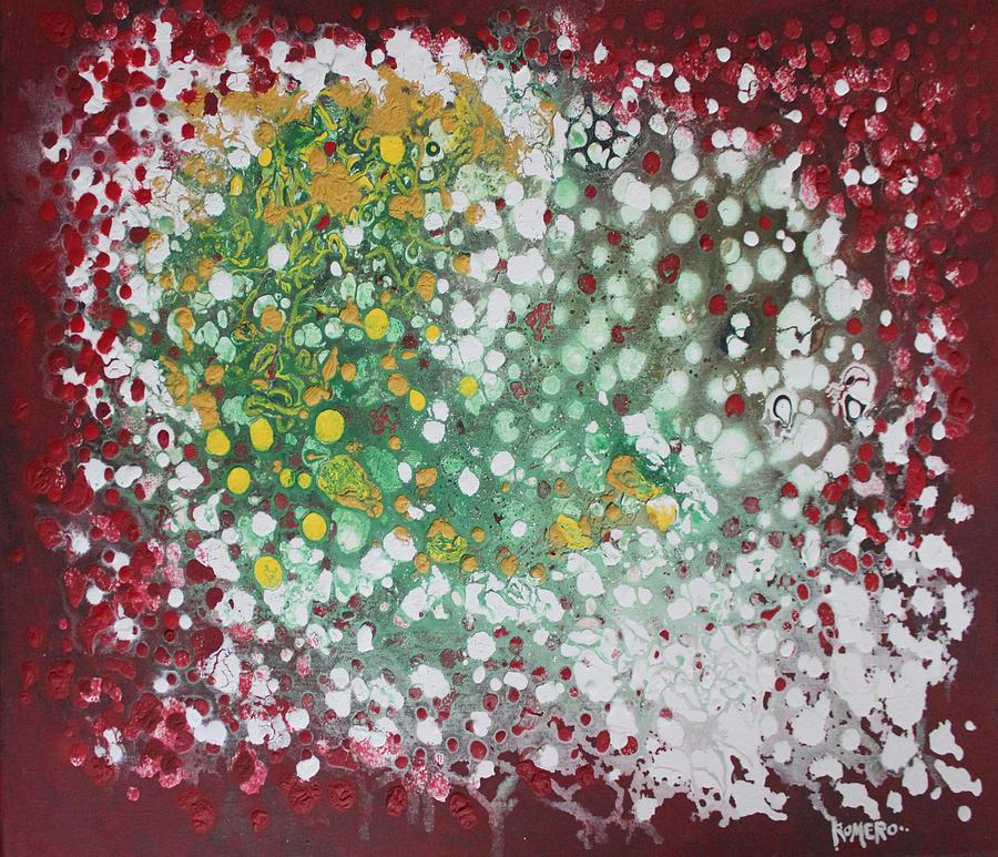 Ebola Painting - Ebola Contained by Antonio Romero