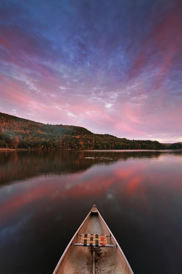 Joseph Rossbach Photograph - Echo Lake Sunset by Joseph Rossbach