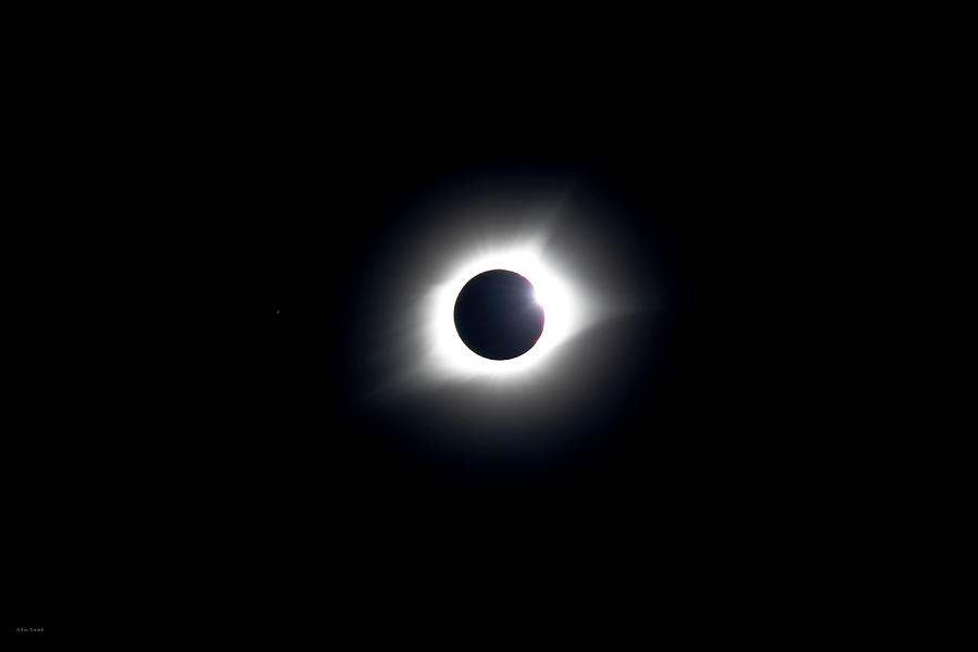 Eclipse Photograph - Eclipse 2017 by Ross Henton