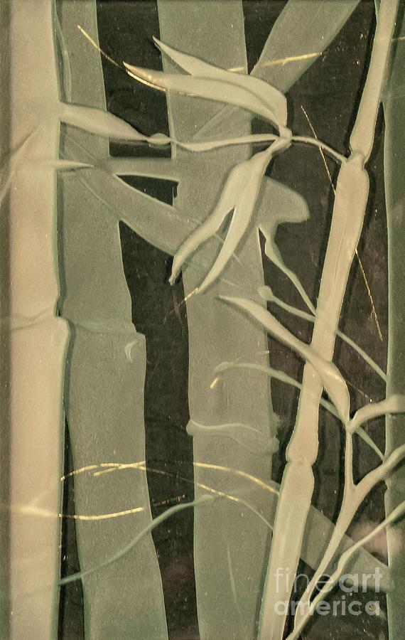 Bamboo Glass Art - Eclipse Bamboo by Alone Larsen