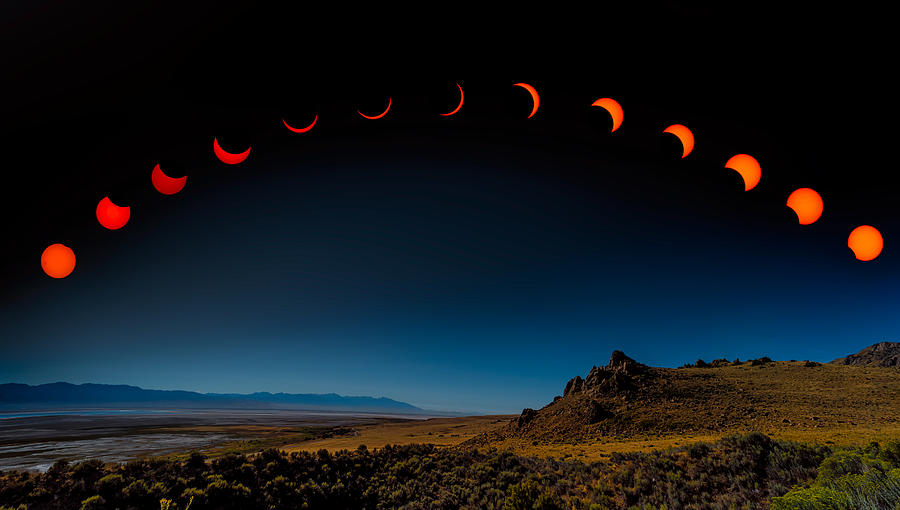 Eclipse Pano by Dave Koch