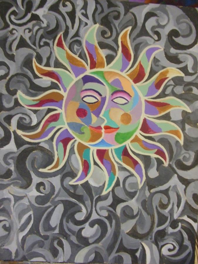 Sun Painting - Eclypse Series Xv by Jubamo