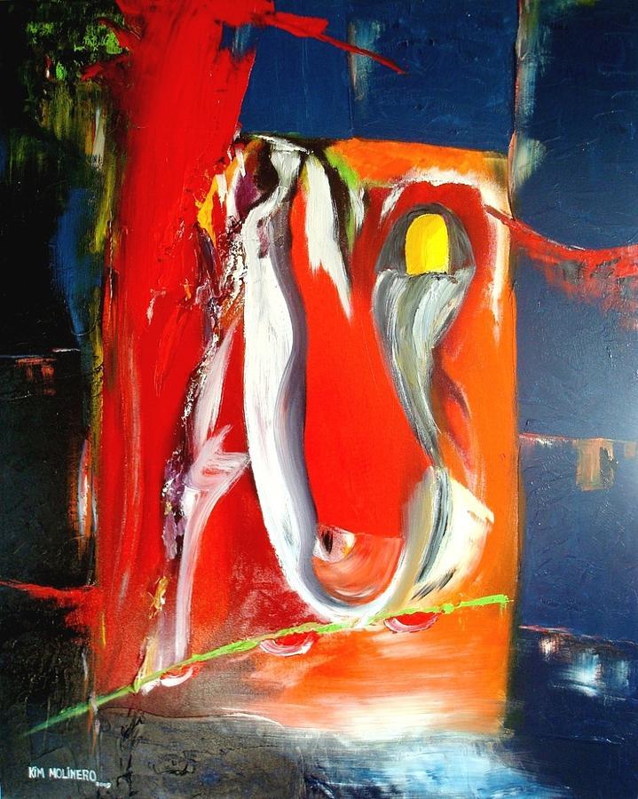 Econocrisis - Usa The Principle Painting by Kim Molinero