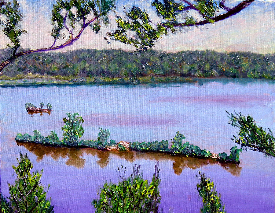 Blue Sky Painting - Ecp 6-1 by Stan Hamilton