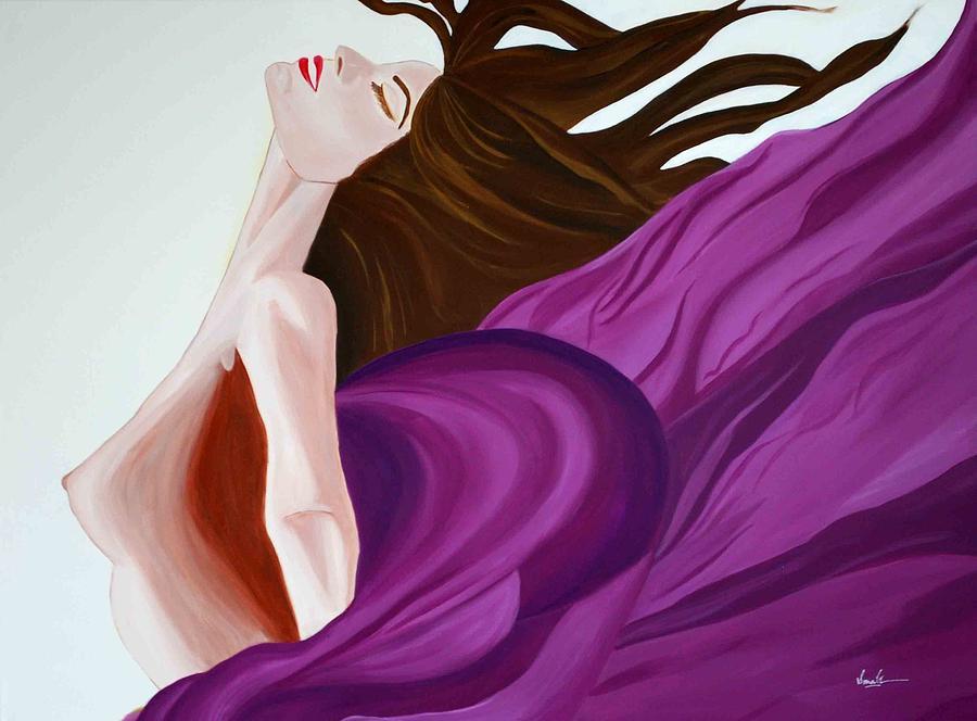 Figurative Painting - Ecstasy by Sonali Kukreja