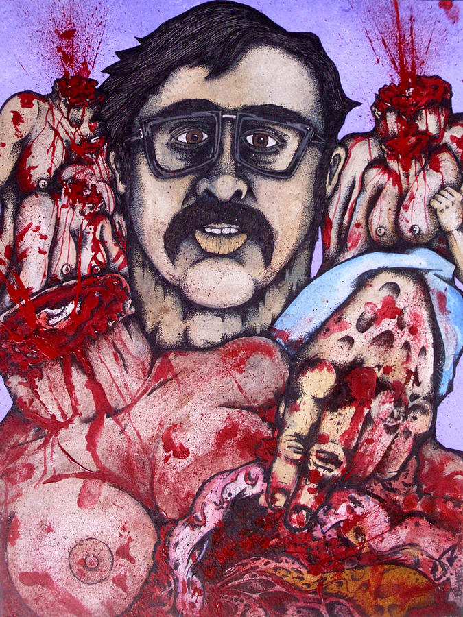 Ed Kemper Co Ed Killer Painting By Sam Hane
