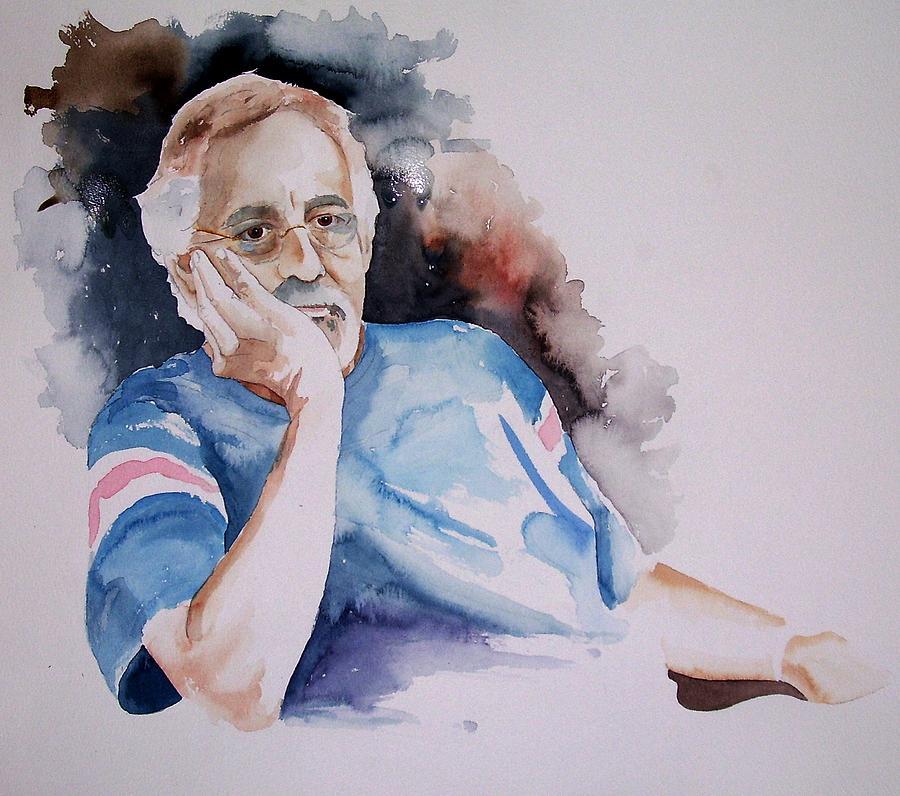 Portrait Painting - Ed by Michael Carter