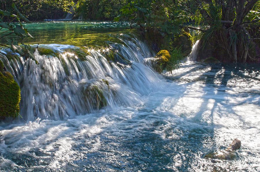 Waterfall Photograph - Eden II by Daniel Csoka