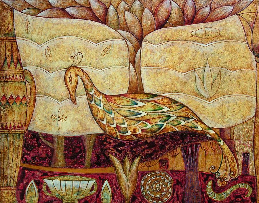 Symbolic Painting - Eden by Kasia Blekiewicz