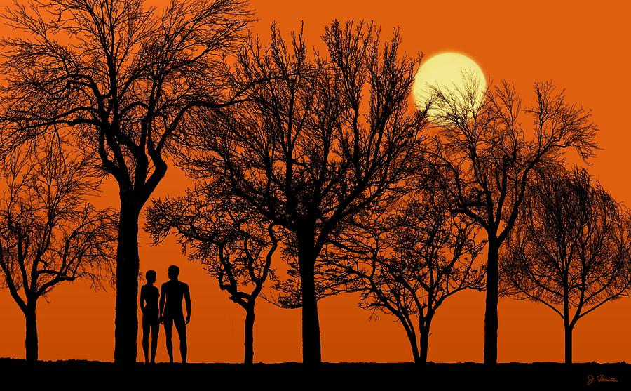 Eden's Forest at Dusk by Joe Bonita