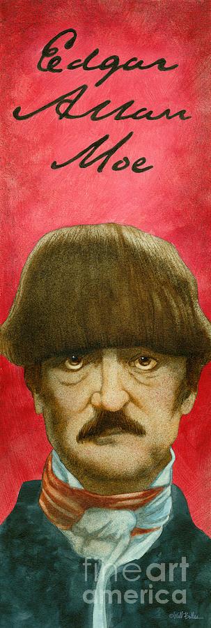 Will Bullas Painting - Edgar Allan Moe... by Will Bullas
