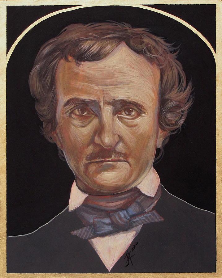 Edgar Allan Poe Painting - Edgar Allan Poe by Jovana Kolic