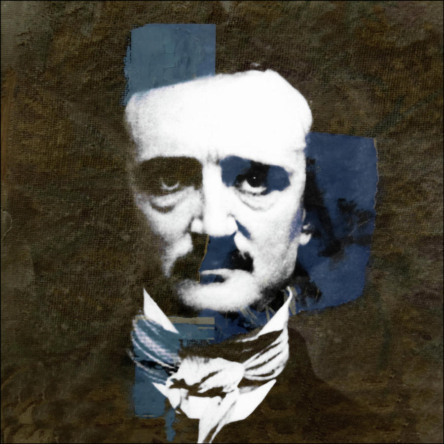 Edgar Allan Poe Mixed Media - Edgar Allan Poe  by Paul Lovering