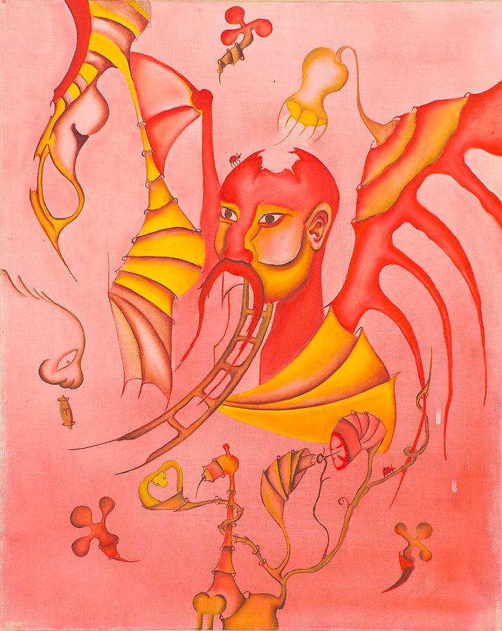 Edgars Dilema Painting by Mario Garcia