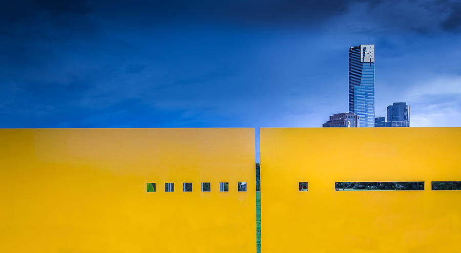 Yellow Photograph - Edge by Gregory Evans