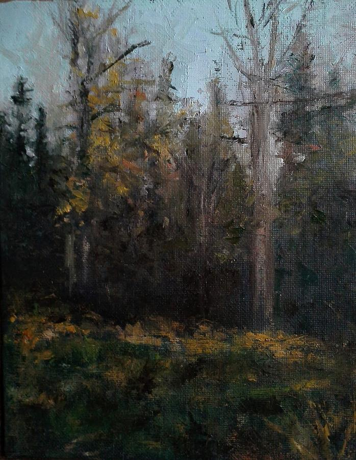 Edge Of The Woods #1 Painting by Brian Kardell