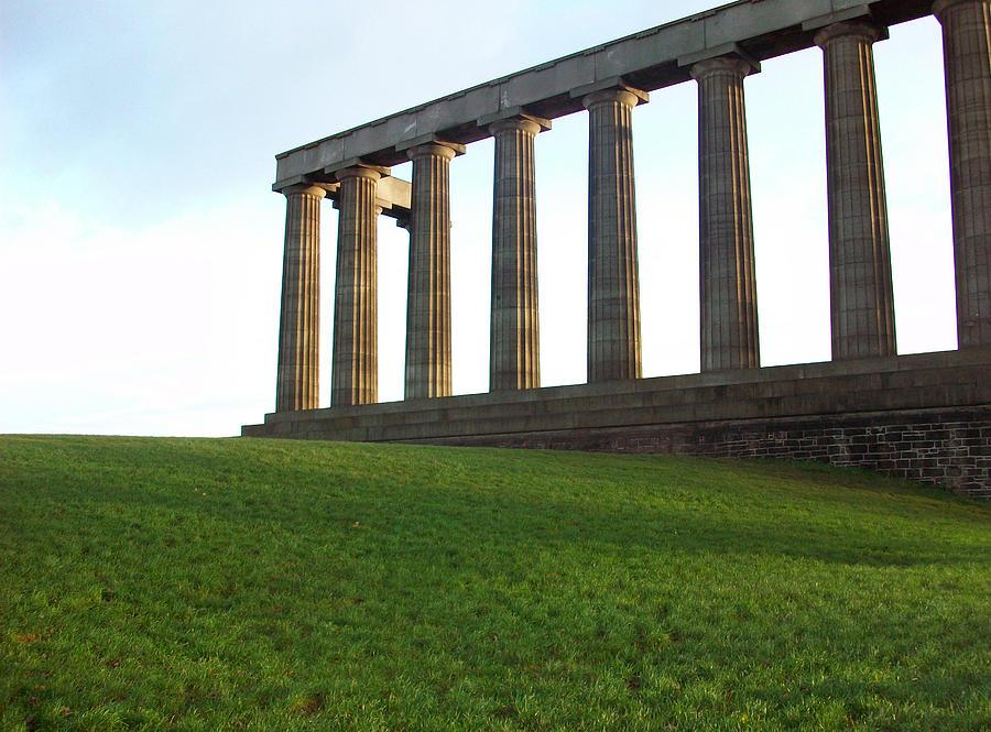 Scotland Photograph - Edinburgh - Caption Hill by Munir Alawi