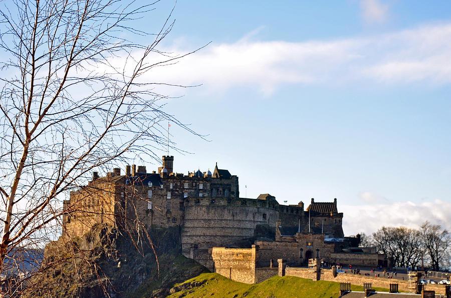Castle Photograph - Edinburgh Castle by Caroline Reyes-Loughrey