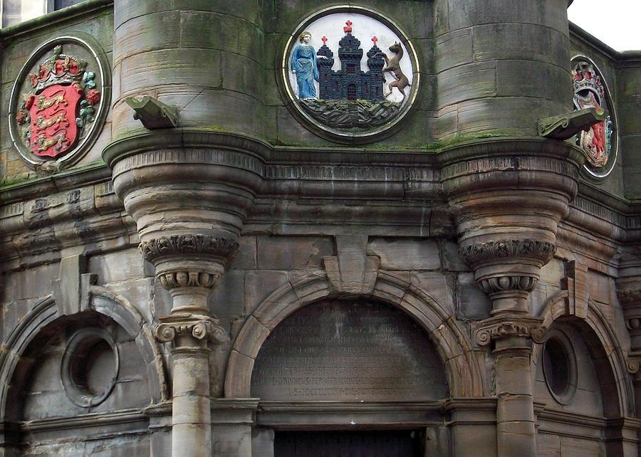 Scotland Photograph - Edinburgh Church by Munir Alawi