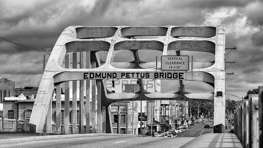 Civil Rights Photograph - Edmund Pettus Bridge - Selma by Stephen Stookey