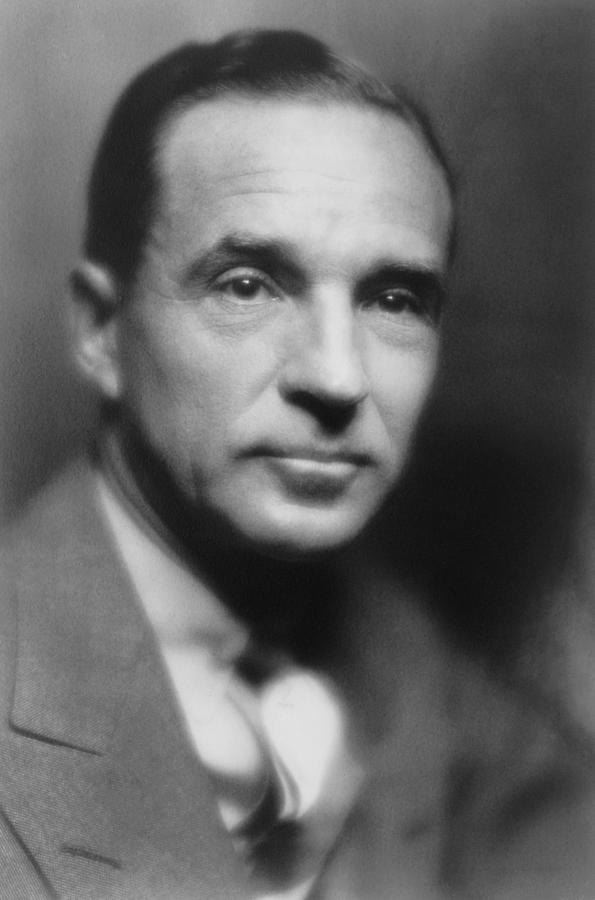 History Photograph - Edsel Ford 1893-1943, The Only Child by Everett