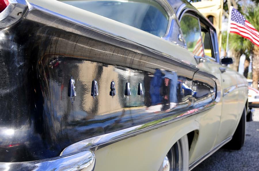 Parade Photograph - Edsel On Parade by David Lee Thompson