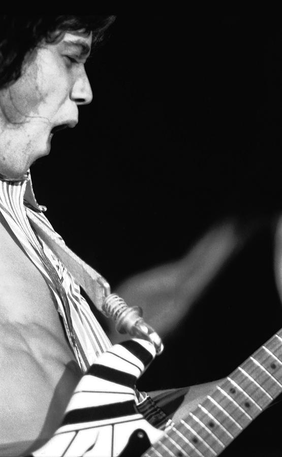 Van Halen Photograph - Edward Rocks by Ben Upham