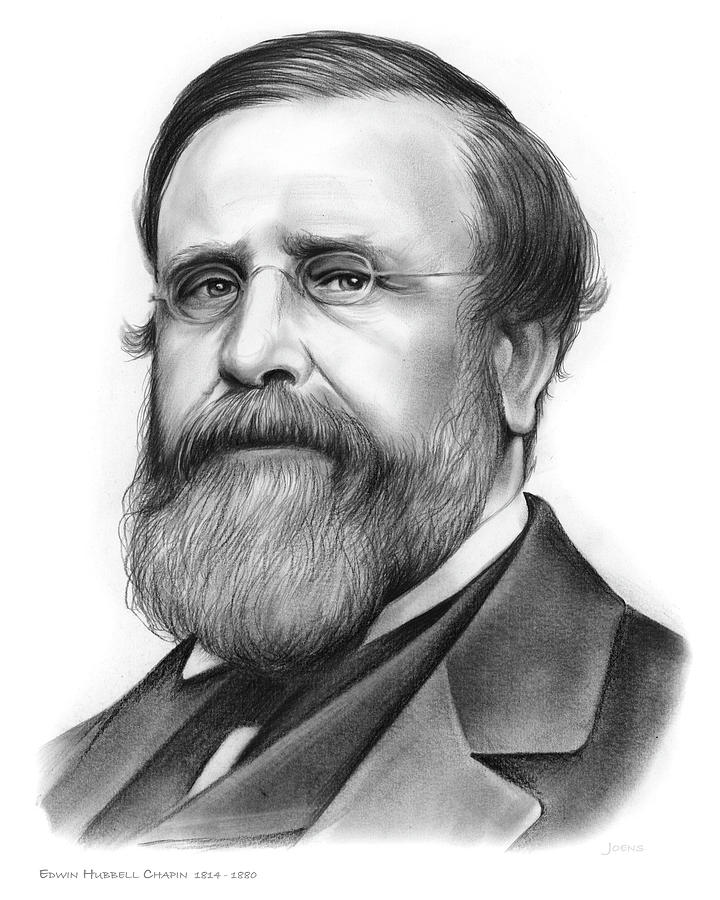 Edwin Hubbell Chapin Drawing