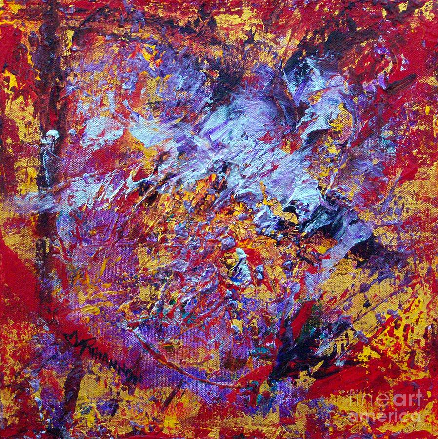 Abstract Paintings Painting - Effect Of Change by Rhiannon Marhi