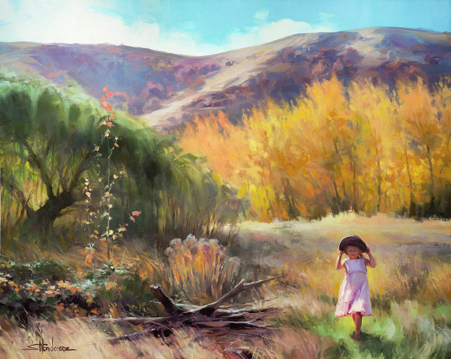 Country Painting - Effervescence by Steve Henderson