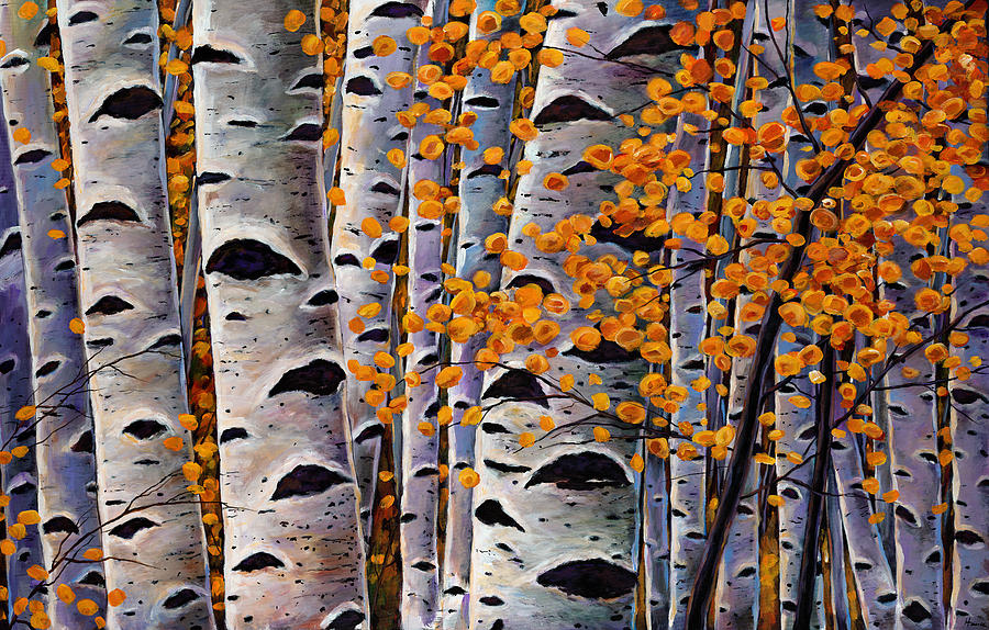 Aspen Painting - Effulgent October by Johnathan Harris