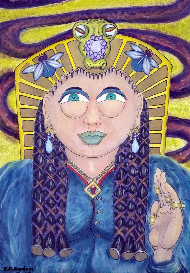 Princess Painting - EGE by Eddie Sargent