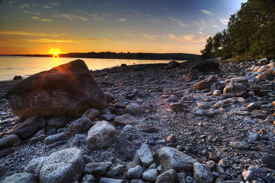 Eggemoggin Reach Sunset by John Sandiford